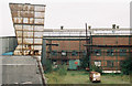 SJ8853 : Chatterley Whitfield Colliery - ventilator and workshops. by Alan Murray-Rust