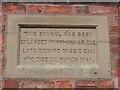 SJ4555 : Coddington Parish Room Plaque by John S Turner