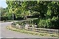 SX3574 : Roadside Pond at Venterdon by Tony Atkin