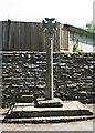 SX3383 : Dunheved Cross by Tony Atkin