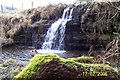 NY9692 : Leehouse Linn waterfall by John Watson