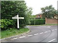 TQ2129 : Junction of Golding Lane with Hammerpond Road by Andy Potter