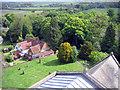 SP8306 : View from Ellesborough church tower by Sara Coward