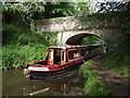SJ8612 : Endeavour at Bridge 17 by John M
