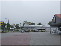S9640 : Two supermarkets in Enniscorthy by Jonathan Billinger