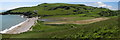 SX9253 : Panorama of Man Sands by Brian