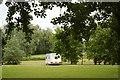 TL3875 : Lake and Caravan park by Fractal Angel