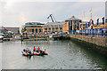 SU4210 : Part of Ocean Village Marina, Southampton by Peter Facey