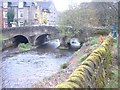 SK2572 : Bridge at Baslow by Adie Jackson