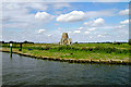 TG3815 : St Benet's Abbey - Gatehouse & Windmill by Richard Robinson