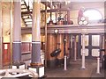 SZ6799 : Inside Eastney pumping station by Patrick GUEULLE