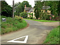 TM3793 : Cottage on Kirby Cane School Road by Suse