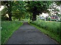 SK5244 : Footpath, Nuthall by Lynne Kirton