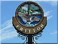 TG4600 : Village Sign - Fritton, Norfolk by Suse