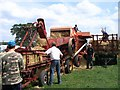 SP2875 : Garvie threshing machine by E Gammie