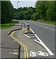 SK6202 : Evington Lane, Evington, Leicester by Mat Fascione