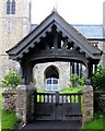 TL2662 : Lych Gate to Holy Cross Yelling by Andrew Tatlow
