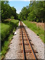 SD1098 : The Ravenglass to Eskdale railway track by N Chadwick