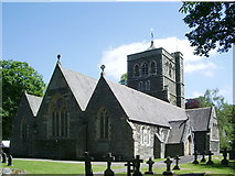 SD4098 : The Parish Church of St Mary's, Windermere by Alexander P Kapp