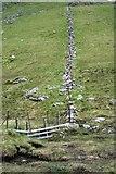 NN3733 : Wall, Bealach Ghlas Leathaid by Mick Garratt