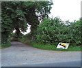 SP6336 : Entrance to Shalstone Grounds Farm by Duncan Lilly