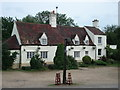 TL1077 : The Swan public house, Old Weston by Simon Mortimer