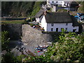 SW7214 : Todden Cottage, Cadgwith Cove by Michael Heavey