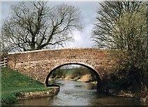 SU0962 : England's Bridge - No.126 - K&A Canal Stanton St.Bernard 2004 by Maurice Pullin