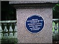 Photo of Joseph Locke blue plaque