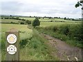 SO8874 : The Monarch's Way near New House Farm by Trevor Rickard