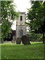 SE3109 : Darton All Saints Church Tower. by John Fielding