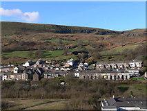 SS9391 : Wyndham From Cwm Ogwr Fawr by Bonelli