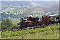 SH6741 : Ffestiniog Railway near Dduallt by Leonore Kegel