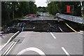 SO5175 : Ludlow Burway Bridge collapse by Mr M Evison