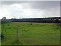 TL1869 : View northwest to Brampton wood by Les Harvey