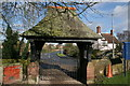 SJ3660 : Lych Gate, St Mary's Church, Dodleston by Paul Roberts