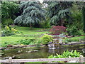 TL0475 : Farm garden at Keyston by Les Harvey