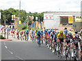 TQ4178 : Tour de France at Charlton by Stephen Craven