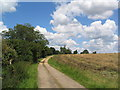 TL2776 : Track from Lodge Farm by Tim Heaton