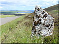 HY3518 : Standing Stone on the Chair of Lyde by Colin Smith