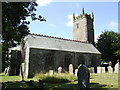 SX2063 : St Pinnock church from the north by Jonathan Billinger