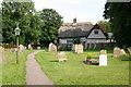 TL0955 : Wilden churchyard by Shaun Ferguson