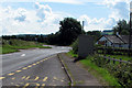 SO3409 : Road junction at Llanvihangel Gobion by Roy Parkhouse