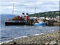 NS2059 : The Paddle Steamer Waverley at Largs by Dave Hitchborne