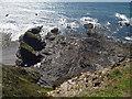 SX1598 : Stoneivy Rock by Derek Harper