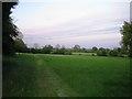 SP6726 : Footpath near Three Bridge Mill, Twyford by Andy Gryce