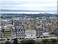 NT2573 : Panorama from the Castle, Edinburgh - 1 of 4 by Dave Hitchborne
