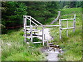 NN1168 : Stile on the West Highland Way by Iain Thompson