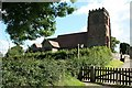 SJ4550 : St. Mary's Church Tilston by Geoff Evans