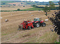 SO6523 : Baling time by Pauline Eccles